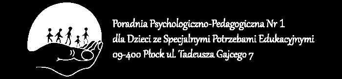 Poradnia Psychologiczno-Pedagogiczna Nr. 1 w Płocku
